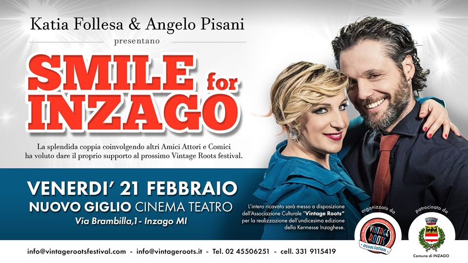 Smile for Inzago – Katia Follesa, Angelo Pisani & Friends